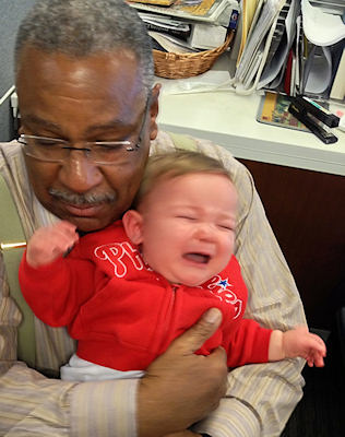 "<div class=""meta image-caption""><div class=""origin-logo origin-image ""><span></span></div><span class=""caption-text"">But someone got a little upset because it was getting close to nap time. No, we aren't talking about Vernon.</span></div>"