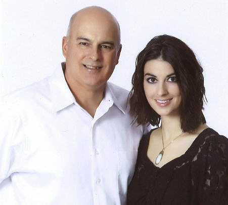 Action News producer Jessica Gonzalez and her father Steven.