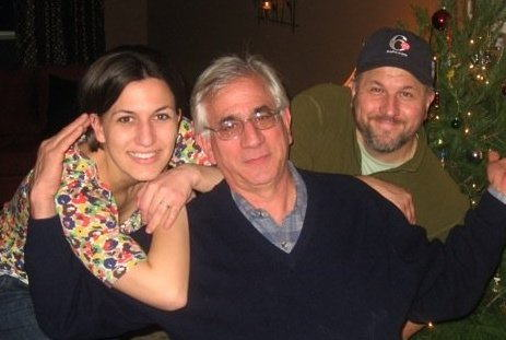 "<div class=""meta ""><span class=""caption-text "">Sara with her father and Ed Wuillermin, Art Director at 6abc.</span></div>"