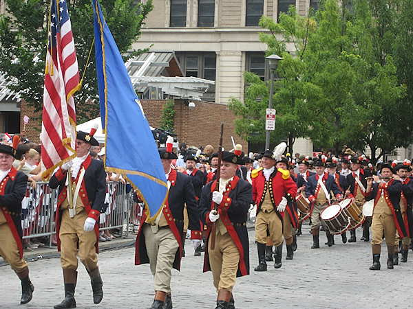 "<div class=""meta ""><span class=""caption-text "">A drum and fife corp marching in the Independence Day parade in Philadelphia.</span></div>"
