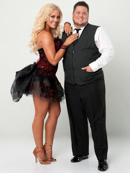 "<div class=""meta ""><span class=""caption-text "">Chaz Bono and Lacey Schwimmer (ABC Photo/ ABC-TV)</span></div>"