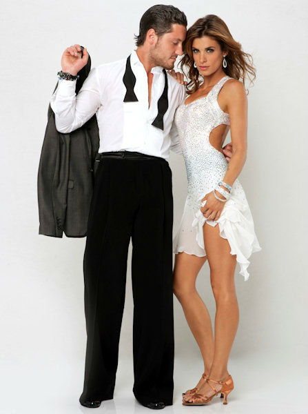"<div class=""meta ""><span class=""caption-text "">Elisabetta Canalis and Val Chmerkovskiy (ABC Photo/ ABC-TV)</span></div>"