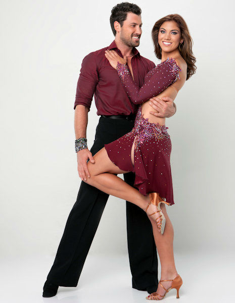 "<div class=""meta ""><span class=""caption-text "">Hope Solo and Maksim Chmerkovskiy (ABC Photo/ ABC-TV)</span></div>"