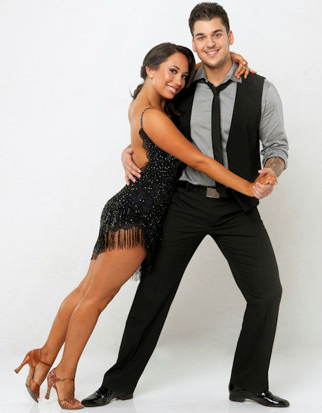 Rob Kardashian and Cheryl Burke <span class=meta>(ABC Photo&#47; ABC-TV)</span>