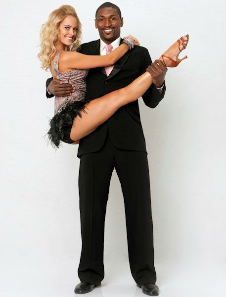 Peta MergatroydVAL CHMERKOVSKIY and Ron Artest <span class=meta>(ABC Photo&#47; ABC-TV)</span>