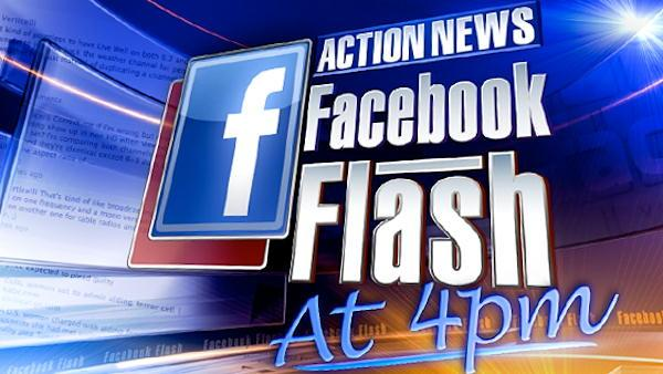 Facebook Flash - Robert Offe  and Caroline Sarmento