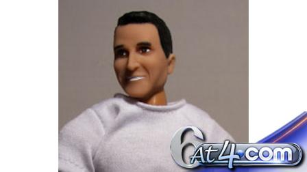 The Rep. Anthony Weiner doll being offered online.