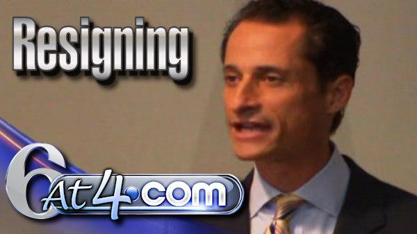 Rep. Anthony Weiner announces resignation - 6at4