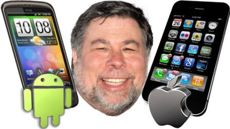 Steve Wozniak - Android or iPhone?