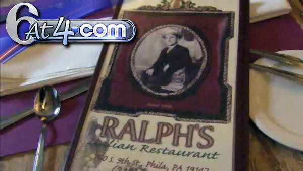 Ralph's in Philly: Oldest U.S. Italian restaurant - 6at4