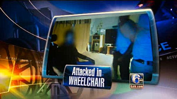 Wheelchair-bound man attacked in own home - 6at4