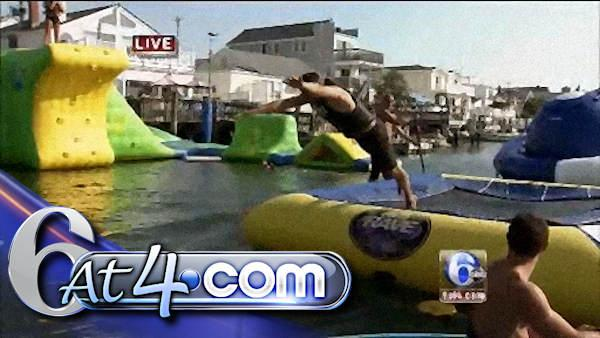 Down the Shore - Adam's diving into fun stuff! - 6at4