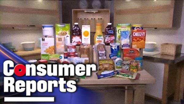 Consumer Reports: Store vs. Name brands taste test - 6at4
