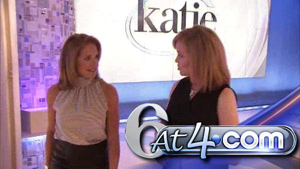 Monica Malpass meets up with Katie Couric - 6at4
