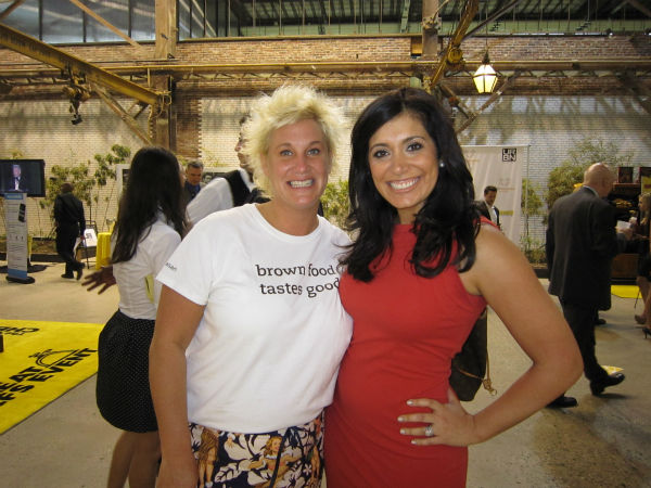 With Chef Anne Burrell from the Food Network