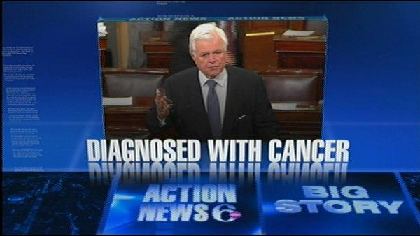 VIDEO: Kennedy diagnosed with cancer