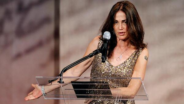Kim Delaney at the Liberty Medal ceremony