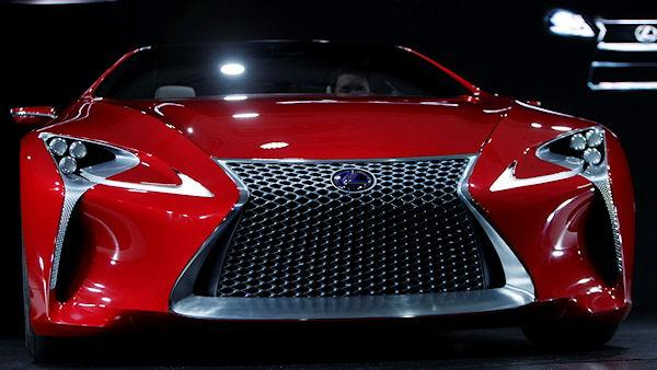 The Lexus LF-LC concept