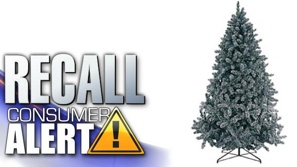 Fire hazard prompts artificial Christmas tree recall