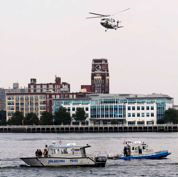 "<div class=""meta ""><span class=""caption-text "">Rescue vessels are seen on the Delaware River in Philadelphia, Wednesday, July 7, 2010. Coast Guard officials say a barge collided with a tourist duck boat on the Delaware River in Philadelphia. (AP Photo/ Joseph Kaczmarek) (AP Photo/ Joseph Kaczmarek)</span></div>"