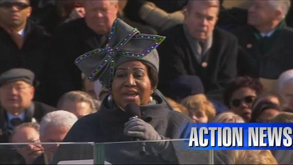 VIDEO: Aretha Franklin performs