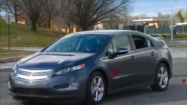 A test drive of the Chevy Volt