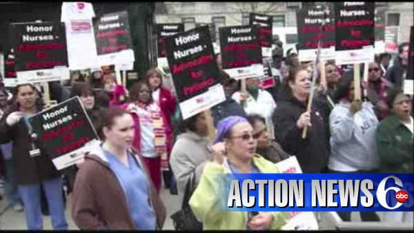 Temple nurses' strike deadline nears