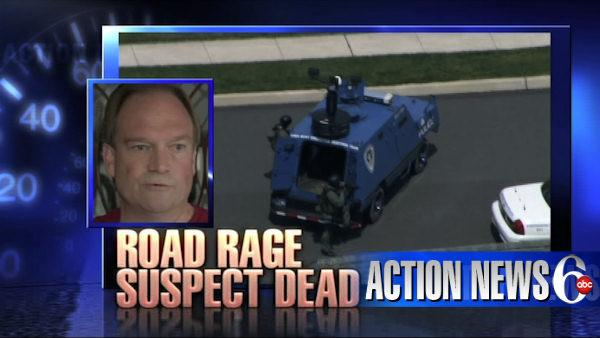 Road rage suspect found dead in home