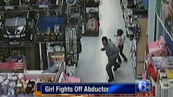 Man tries to carry girl away at Ga. Walmart