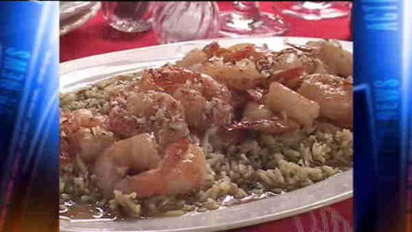 Mr. Food: Fast Amaretto Shrimp