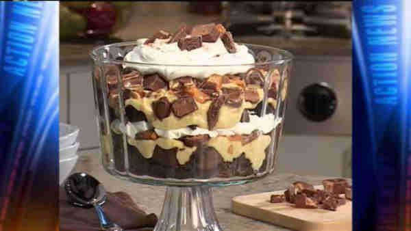 Mr. Food: Candy Bar Brownie Trifle