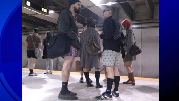 #nopants, BART, Muni, Improv Everywhere, no pants, pantsless subway