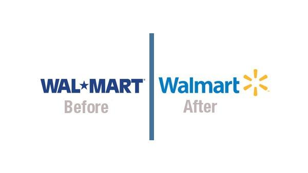 Walmart Before & After