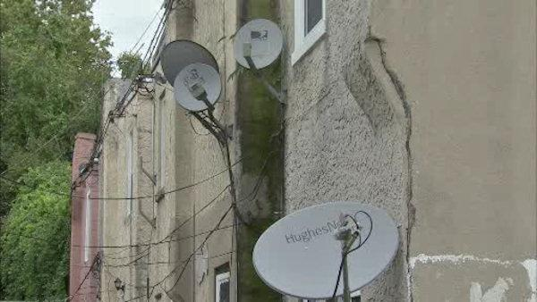 Debate over satellite dish bill