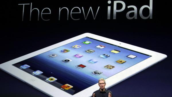 Apple unveils new iPad with sharper screen