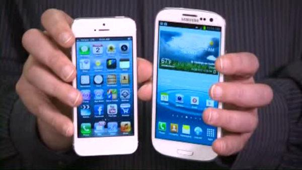 Consumer: Comparing iPhone 5, Android