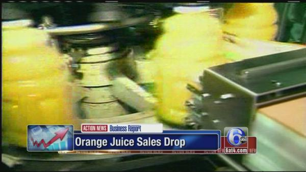 Orange juice prices are going up