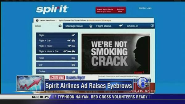 Airline makes Crack-related offer