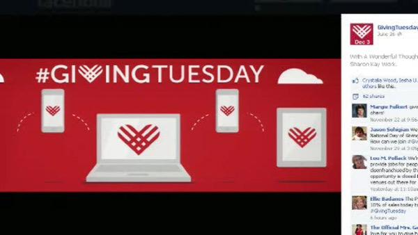 Black Friday, Cyber Monday, Giving Tuesday?