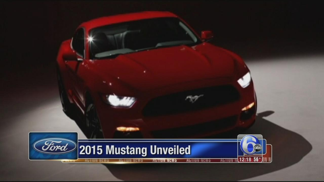 Ford unveils 2015 Mustang