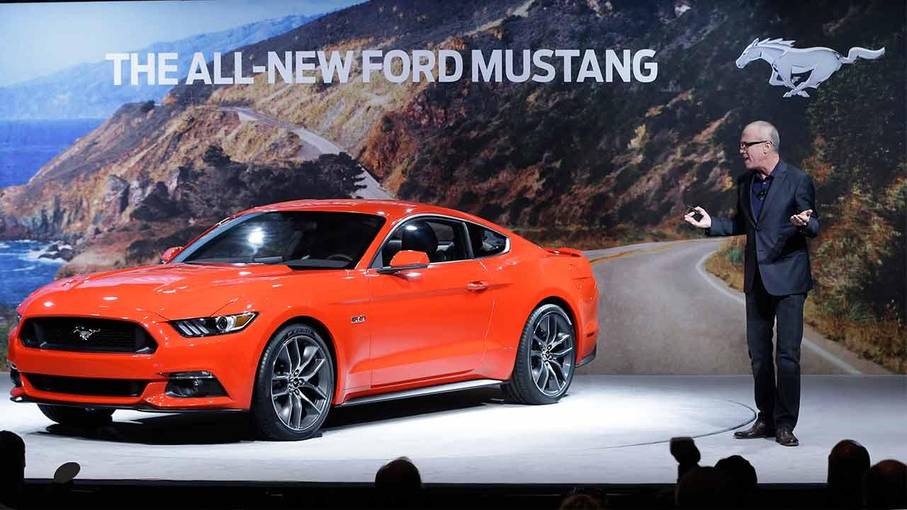 The 2015 Ford MustangThe Associated Press