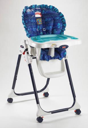 This recall involves the Healthy Care, Easy Clean and Close to Me High Chairs with pegs on the back legs intended for tray storage. The high chairs have a folding frame for storage and a three-position reclining seat. The model number and date code of the high chair is on the back of the seat. All Easy Clean and Close To Me High Chairs are included in this recall. Only Healthy Care High Chairs manufactured before December 2006 are included in the recall. If the fourth digit in the date code is 6 or less, the Healthy Care High Chair is included in the recall. <span class=meta>(Photo&#47;cpsc.gov)</span>