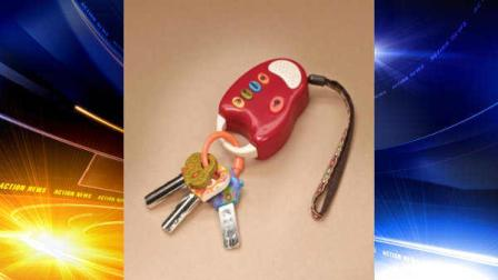 Toy Keys with Remote Recalled by Battat Due to Choking Hazard