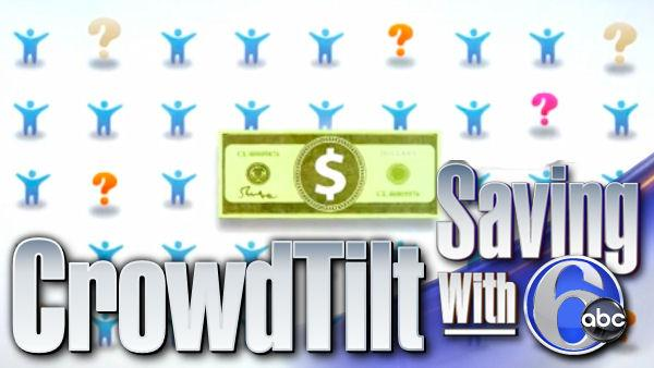Saving with 6abc: Group funding through CrowdTilt - 6at4