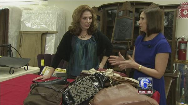 Saving with 6abc: Spotting a fake purse