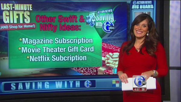 Saving with 6abc: Last minute gift ideas