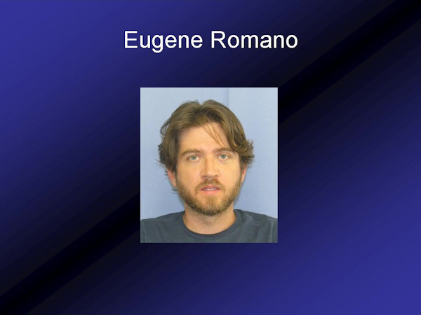 Damian Gasdaska, a.k.a.Roberto Bones Rodriguez, has been arrested along with Eugene Romano.  Both are in custody, facing a mountain of charges.