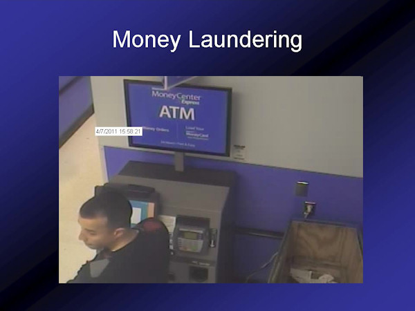 Investigators say the crime ring would then launder their ill-gotten gains, ultimately thru Wal-mart Moneygrams.