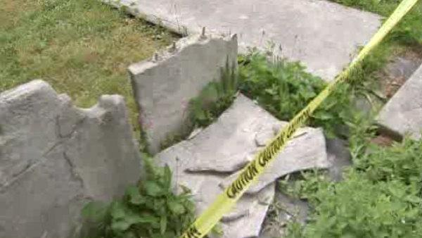 Historic Society Hill graveyard hit by vandals