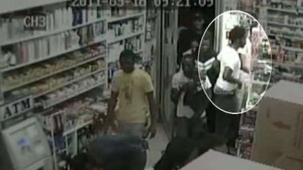 Flash mob robbery suspect denies taking part